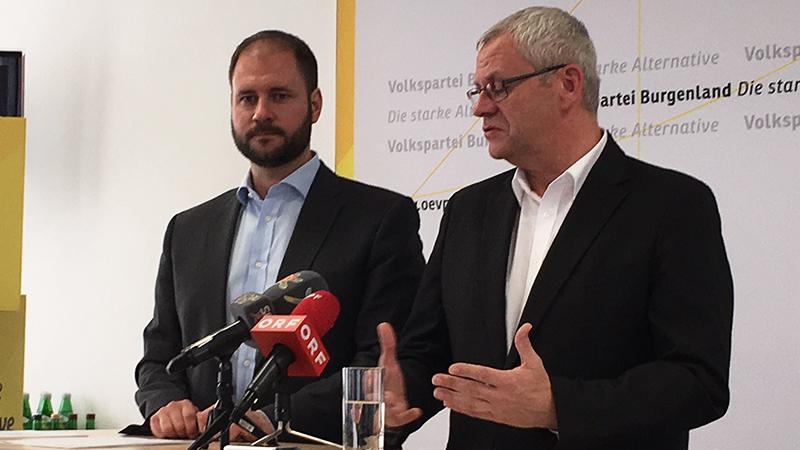 Christian Sagartz und Thomas Steiner
