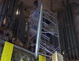 Abbau der Orgel im Stephansdom