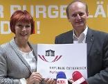 Klaudia Friedl und Erwin Preiner