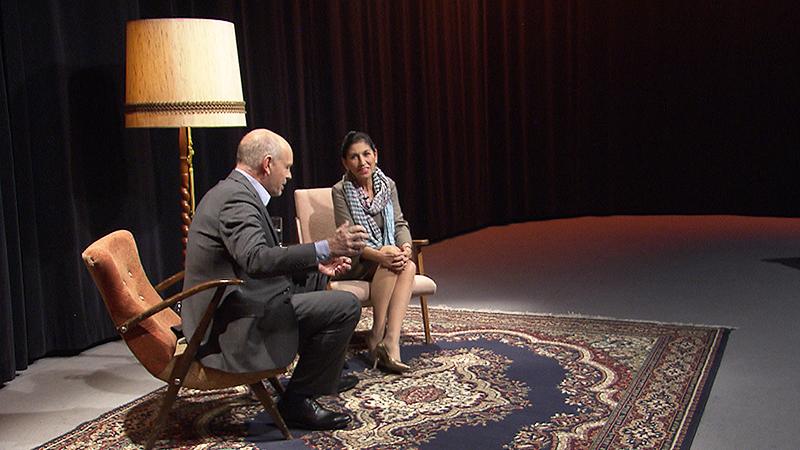 Danielle Spera beim Medientreff