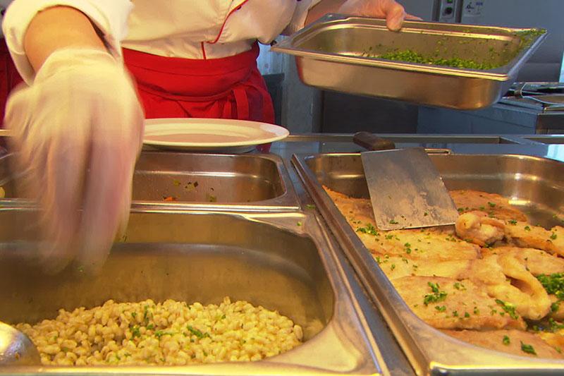 Großküche der Stadt