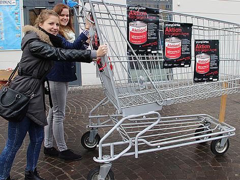 Caritas young nakupovalni voziček nabirka Marketz