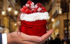 Weihnachten Shopping Geschenk Packerl Einkaufen