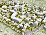 Modell des Bauprojekts