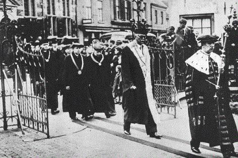 Pohřeb Jana Opletala 1939