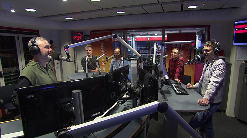 Reinhold Bieber, Mario Kanitsch, Sebastian Györög  und Marin Berlakovich