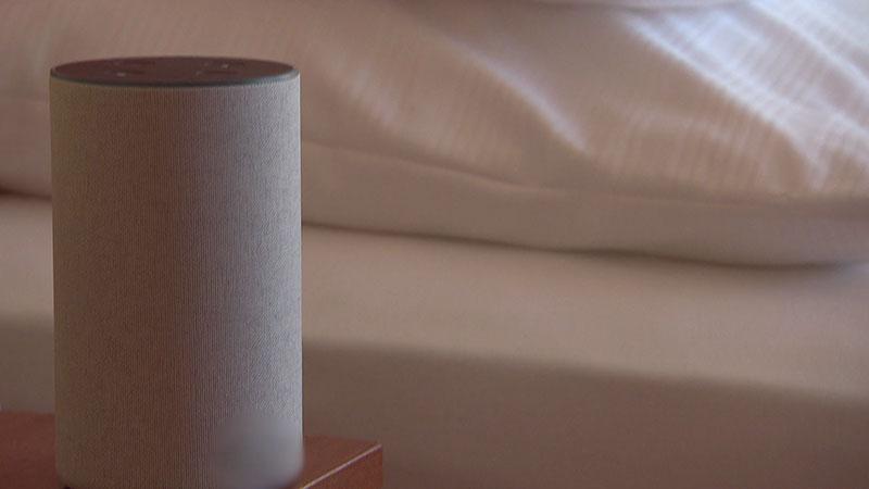 Sprachsteuerung Hotelzimmer Alexa