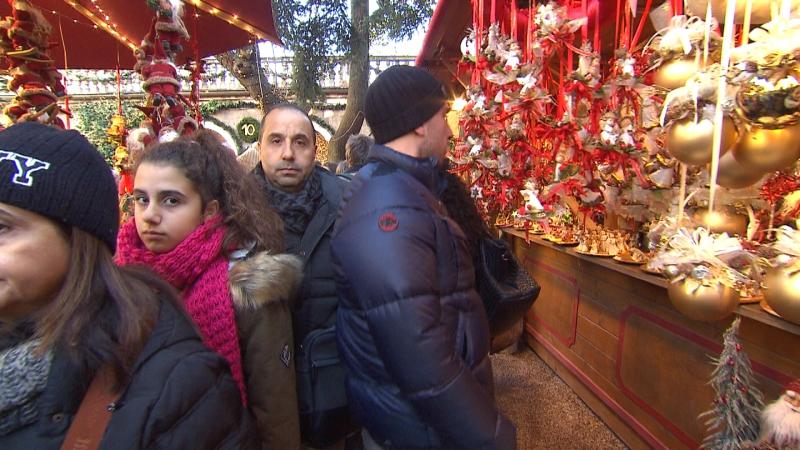 Viele Italiener stürmen die   Märkte