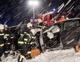 Tödlicher Unfall auf Schneefahrbahn in Pfarrkirchen im Mühlviertel