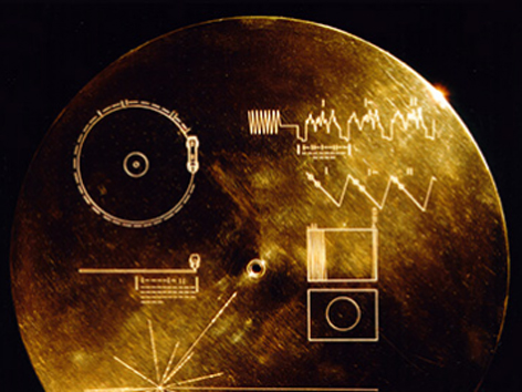 Voyager Sonde Golden Record
