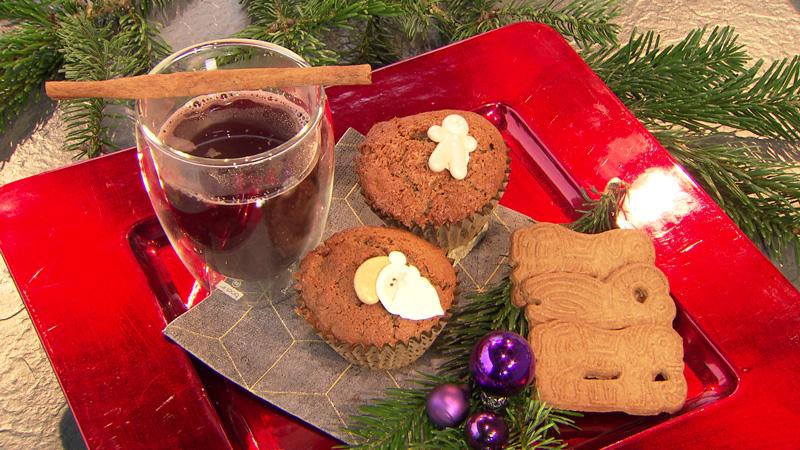 Muffins und Glühwein