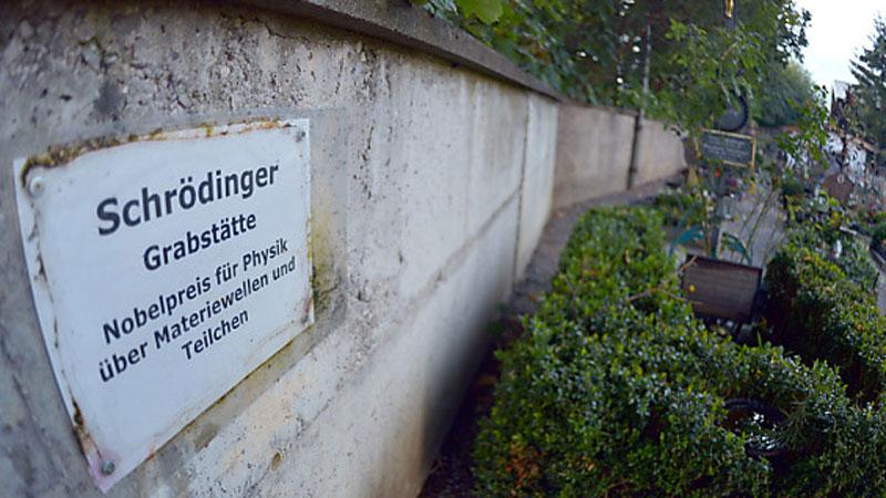 Schrödingers Grab in Alpbach