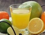 Zitrone, Orange, Orangensaft