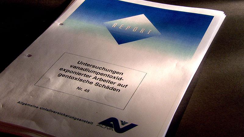 Treibacher Werke Studie risikostudie konkret krebserregend Vanadium
