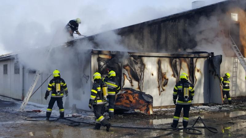 Explosion in Mureck