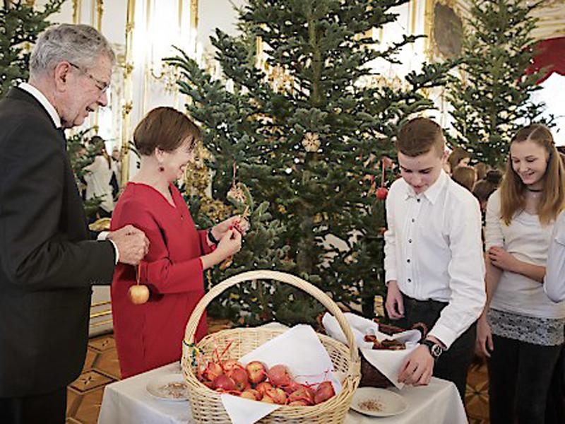 Steirische Christbäume für den Präsidenten
