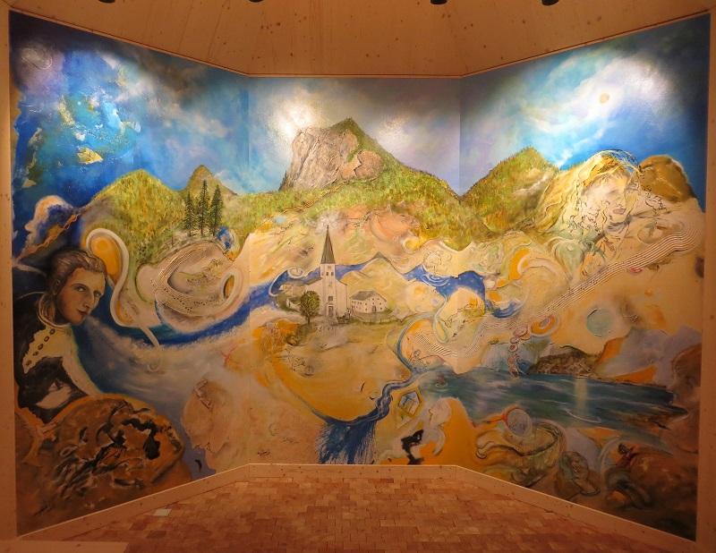 Altarbild Joseph-Mohr-Gedächtniskapelle