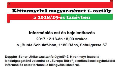 Bilinguális iskola infoest