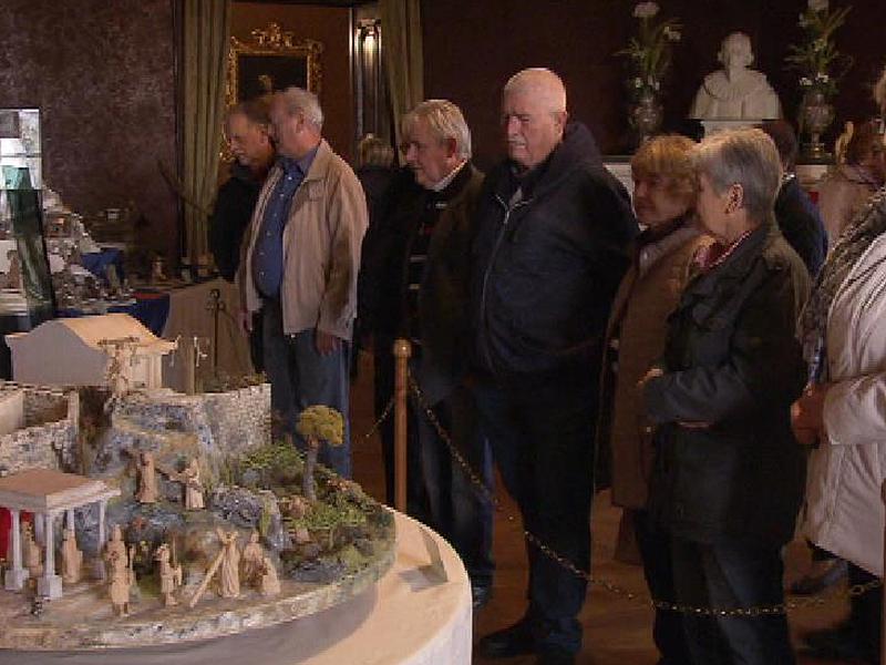 Krippenausstellung Schloss Kornberg