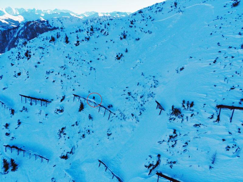Brandenburger Snowboarder von Lawine mitgerissen und schwer verletzt