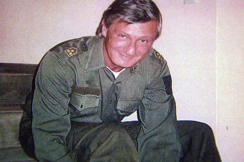 Harald Preuner in Bundesheer Uniform als Reserveoffizier