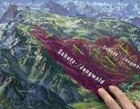 Plan der Schutzzonen gegen Skifahrer auf dem Untersberg bei Grödig