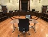 Großer Schwurgerichtssaal im Wiener Landesgericht