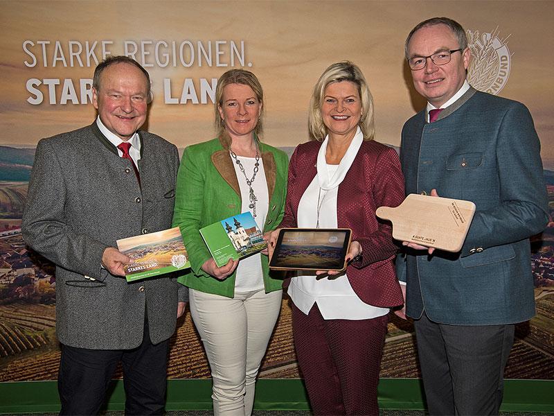 Bauernbund Pressekonferenz Regionen