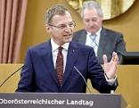 Thomas Stelzer im Landtag