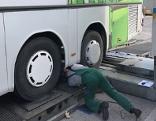 Desloate Reisebusse aus dem Verkehr gezogen