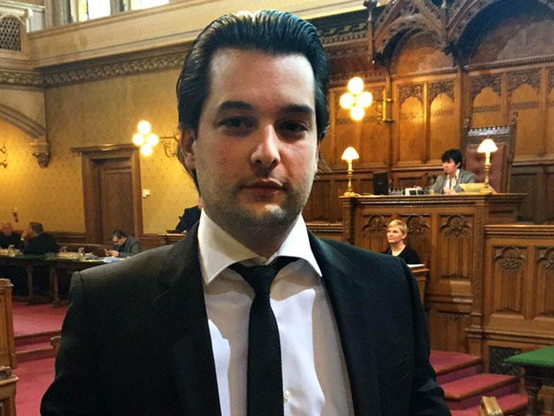 FPÖ Wien-Klubobmann Dominik Nepp