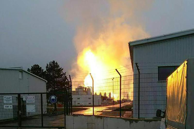 Gasexplosion Baumgarten an der March Marchegg OMV