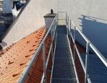 Dach Sturz 18 Meter