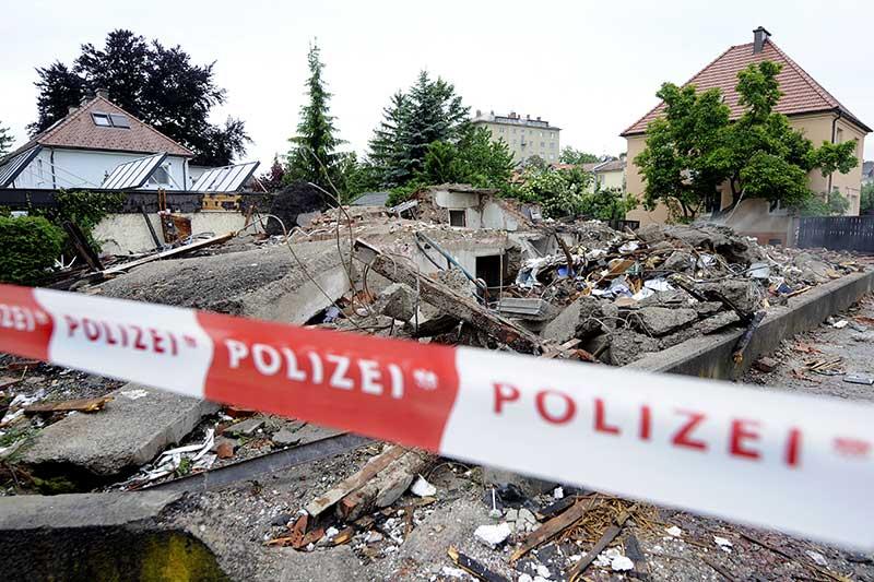 Explosion St. Pölten