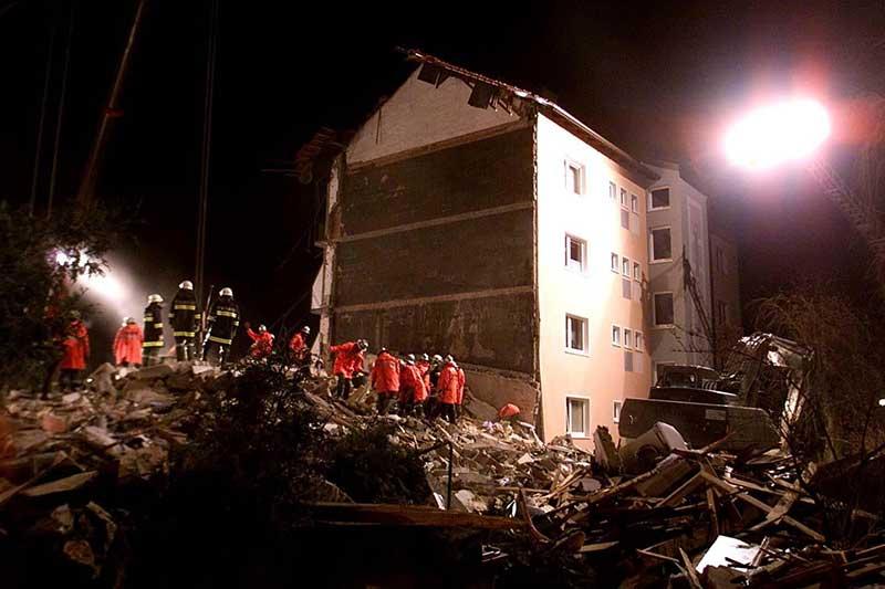 Gasexplosion in Wilhelmsburg