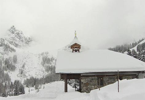 Kapelle Oberhofalm Bischofsmütze