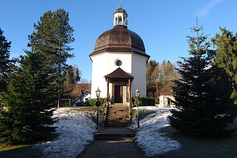 Die Stille Nacht Kapelle in Oberndorf