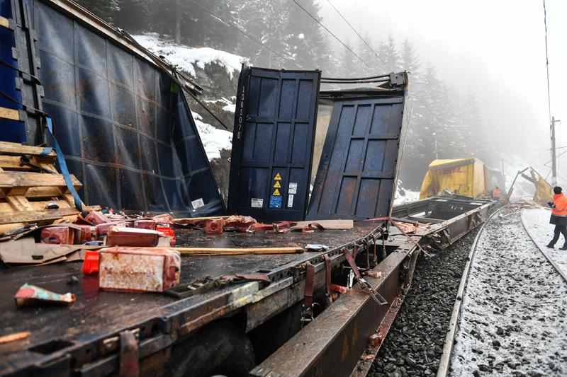 Zugunfall Brennerstrecke
