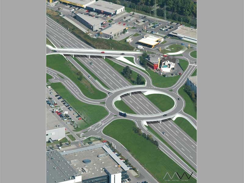 Kreisverkehr Bludenz/Bürs