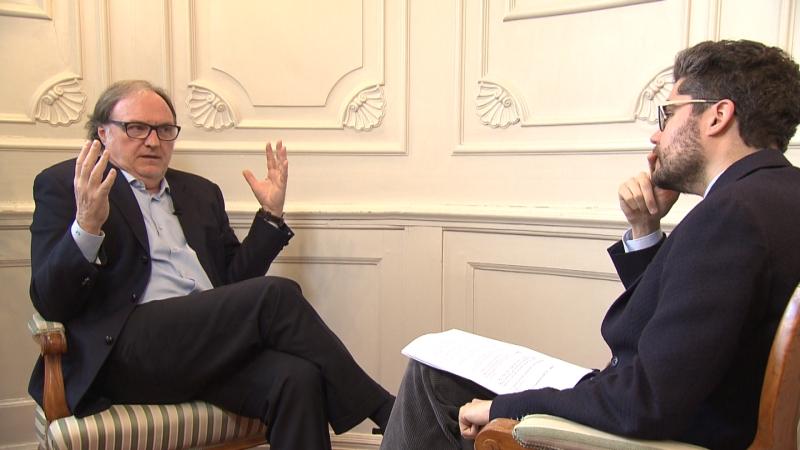 Cuno Tarfusser im Gespräch mit Patrick Rina