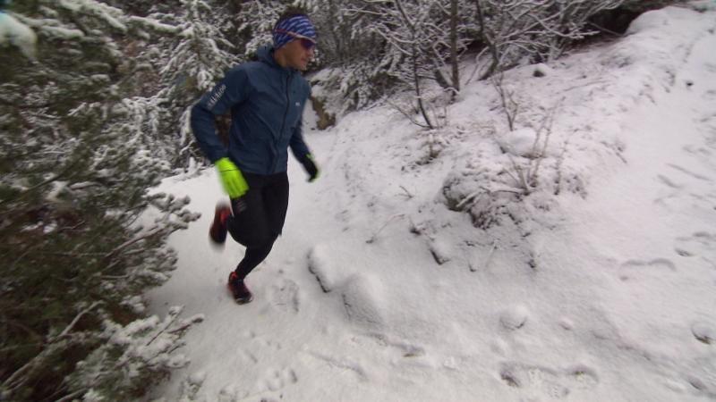 Ultratrailrunner Daniel Jung beim Laufen