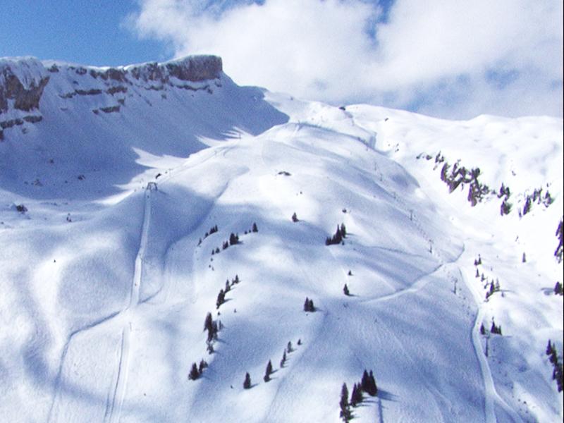 Verschütteter Snowboarder ruft mit Handy um Hilfe