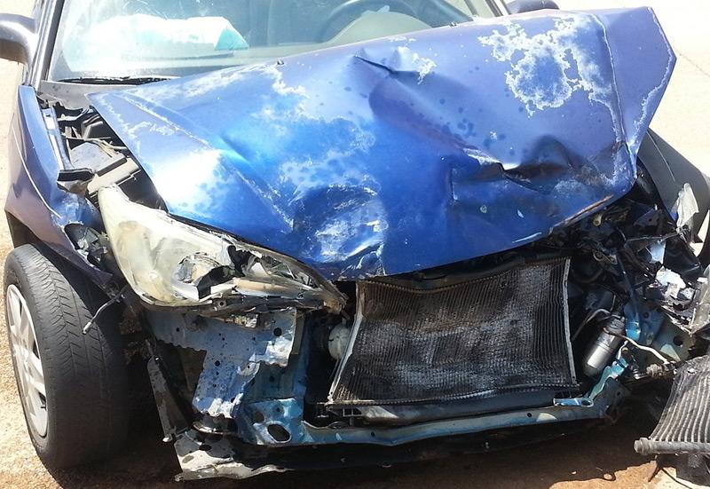 Symbolbild Autounfall