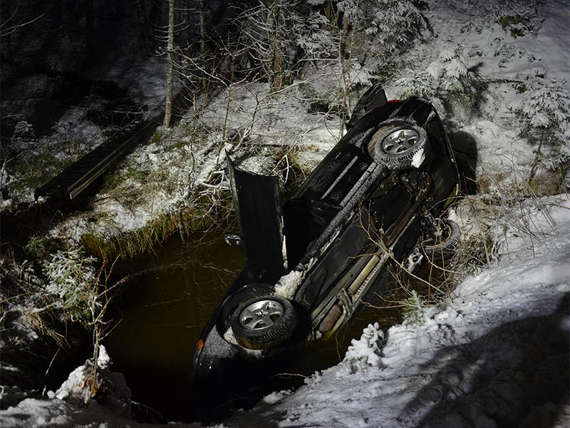 Unfall in Trahütten