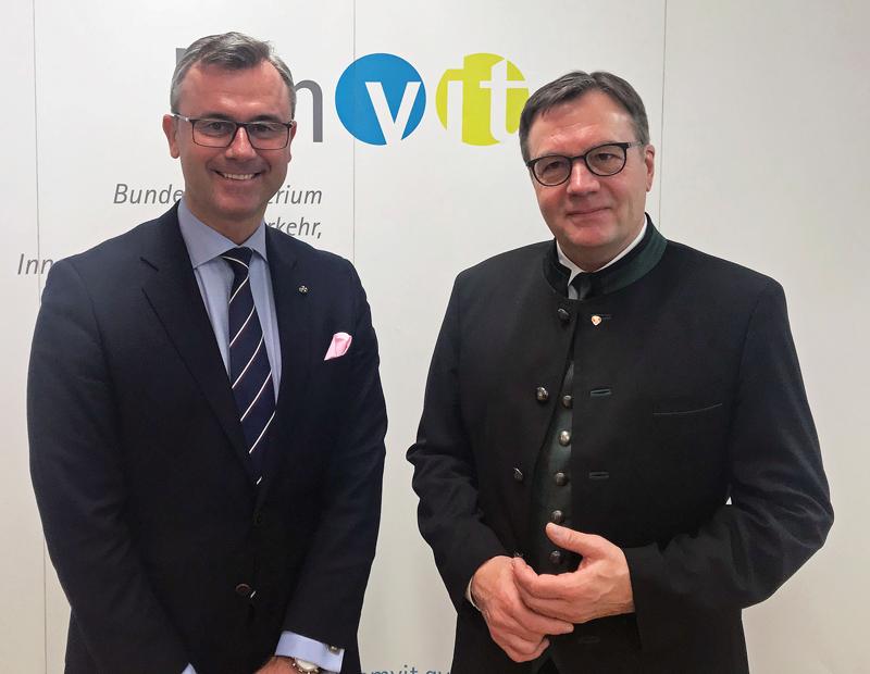 Norbert Hofer und Günther Platter