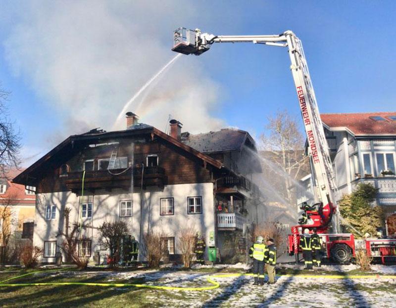 Villa in Mondsee in Brand