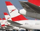 AUA Austrian Airlines Flughafen