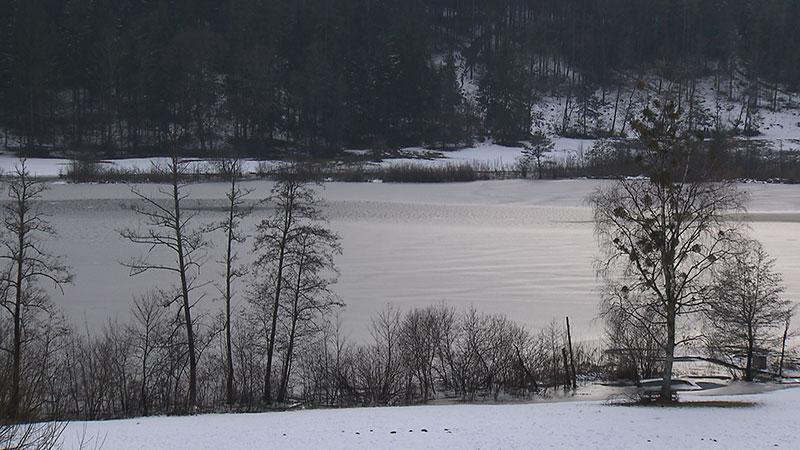 Hafnersee Winter