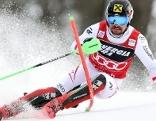 Marcel Hirscher bei Slalom (in Zagreb)