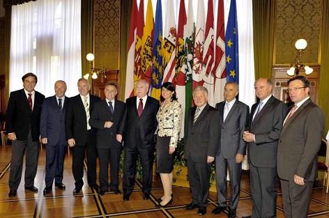 Die Landeshauptleute von Österreich